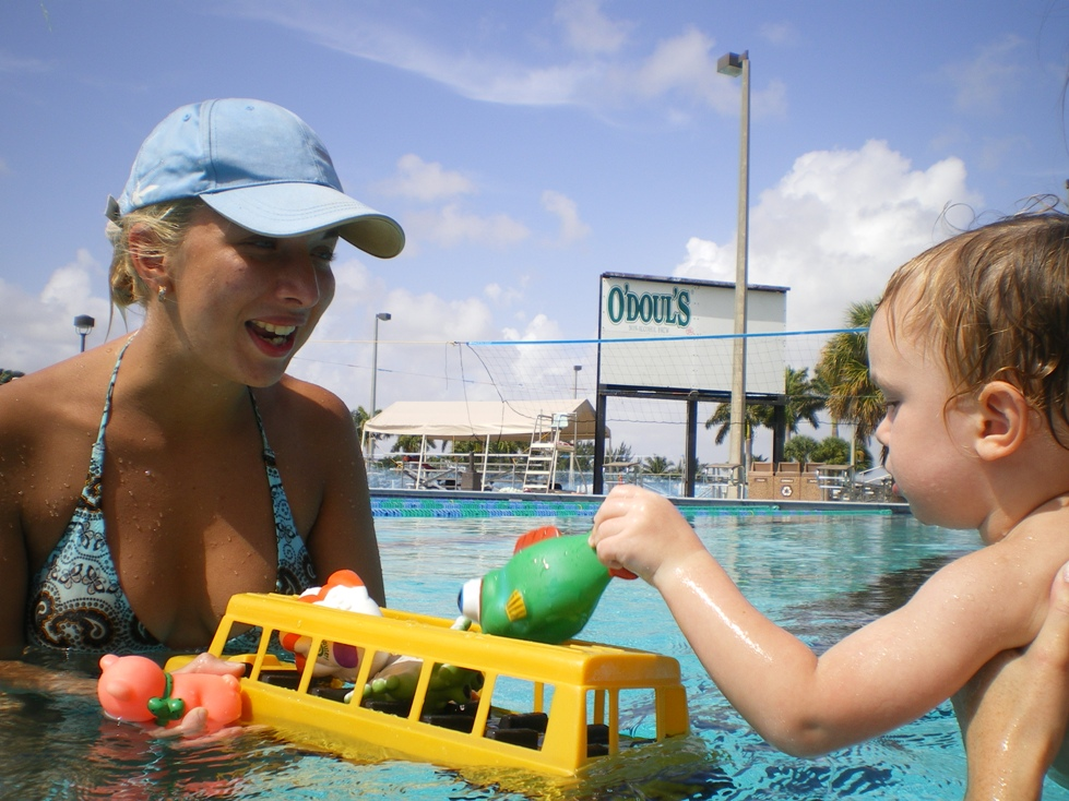 Dr. Lyudmila is now convinced that swimming at early ages in a gentle, nurturing, child paced, playful environment will greatly enhance the healthy development of the child.