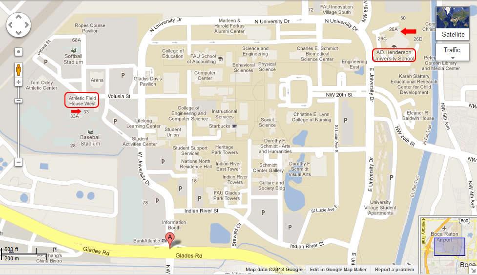 florida-atlantic-university-map
